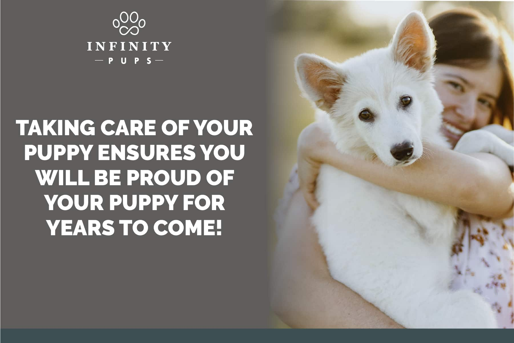 taking proper care of your puppy ensures a healthy puppy for years to come